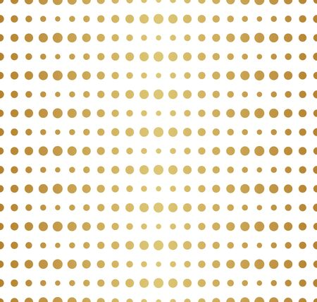 Halftone Dots Vector Pattern. Retro Style Background. Parametric Circle Texture. Banco de Imagens - 150545899