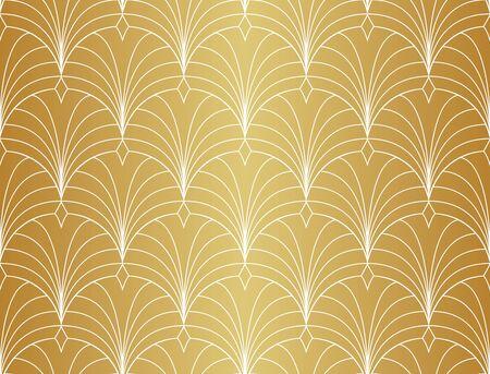 Seamless Art Deco Pattern. Vintage geometric minimalistic background. Abstract Luxury Illustration. Vectores