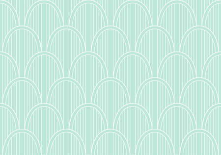 Vector abstract seamless pattern. Geometric classical background. Retro stylish texture. Banco de Imagens - 151222253