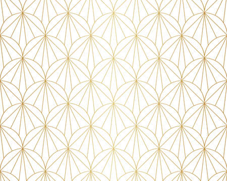 Abstract Seamless Art Deco Pattern. Stylish antique background. Banco de Imagens - 151222411