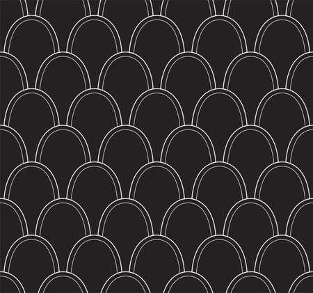 Seamless Art Deco Pattern. Stylish antique background. Banco de Imagens - 151222413