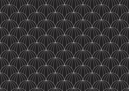 Seamless Art Deco Pattern. Stylish antique background.