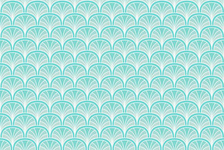 Modern art deco seamless pattern. Trendy abstract texture. Vector geometric background.
