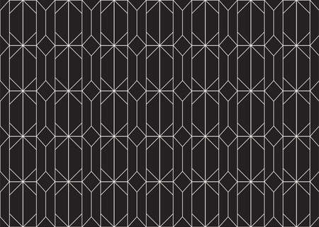 Seamless Art Deco Pattern. Stylish antique background. Banco de Imagens - 151222564