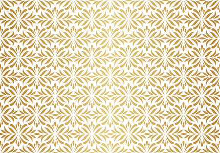 Abstract victorian seamless pattern. Vector art deco background. Geometric illustration.