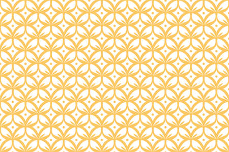 Vector Abstract Seamless Pattern. Art Deco Style Background. Geometric texture. Banco de Imagens - 151222587