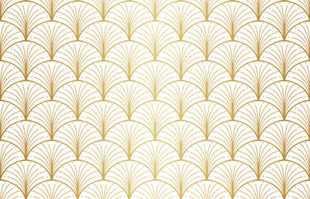 Abstract Seamless Art Deco Pattern. Stylish antique background. Banco de Imagens - 151222588