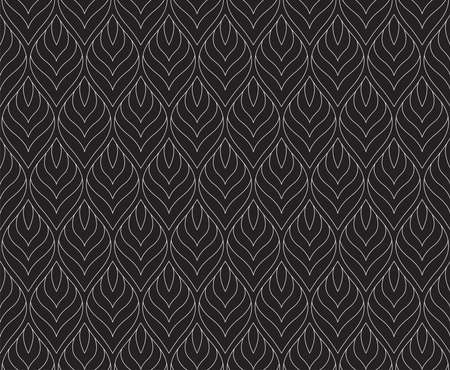 Vector Abstract Seamless Pattern. Art Deco Style Background. Geometric texture. Standard-Bild - 151222607