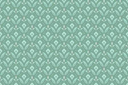 Art Deco Seamless Pattern Background. Geometric decorative texture. Illustration