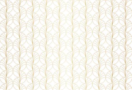Vintage Art Deco Seamless Pattern. Geometric decorative texture. Banco de Imagens - 151222618