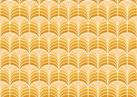 Art deco seamless pattern. Abstract vector background. Geometric elegant texture.