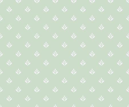 Vector floral damask seamless pattern. Elegant abstract art nouveau background. Classic flower motif texture.