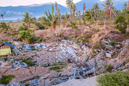 One year since Indonesia's Petobo Palu Central Sulawesi was hit by a triple whammy of a 7.4-magnitude earthquake, a tsunami and soil liquefaction