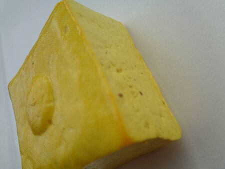 Close up yellow tofu. Yellow tofu (tahu kuning/tahu takwa) is one of traditional food from kediri, indonesia. this tofu ready to eat event don't fried yet