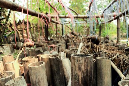 folkways: bamboo Stock Photo