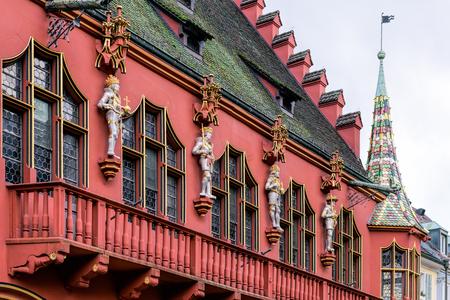 freiburg: The Historical Merchants Hall at Freiburg im Breisgau, Germany