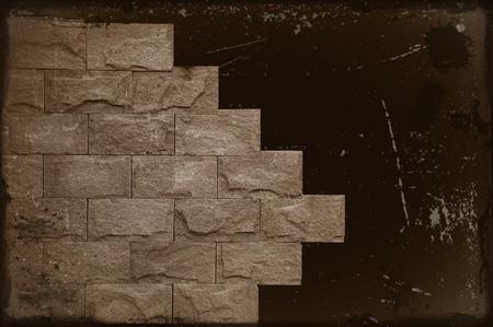 brick wall old