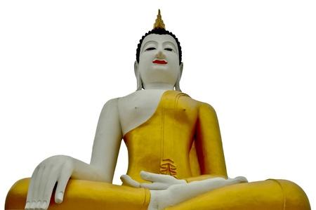 a buddha in thailand, chiang mai province