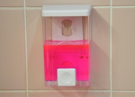 liquid soap Stock Photo