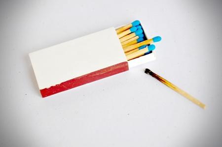 matchbox.    Stock Photo