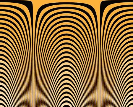 optical illusion hypno yellow photo