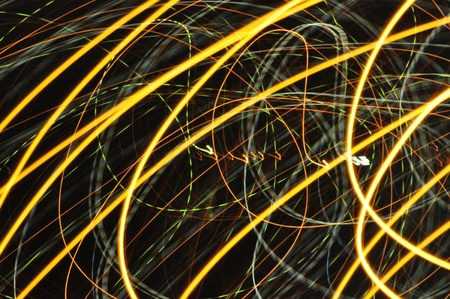 Abstract light line as background  photo