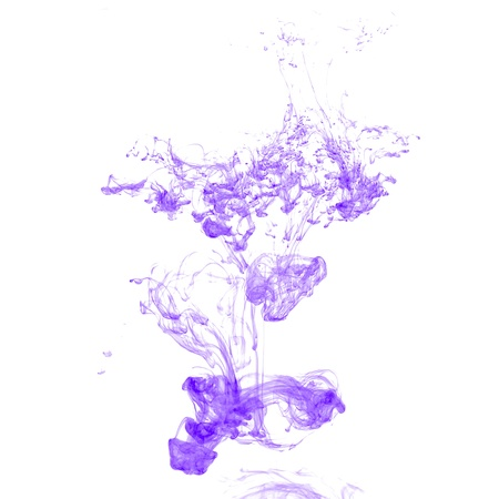 Abstract ink in water on a white background Stock Photo - 12395017