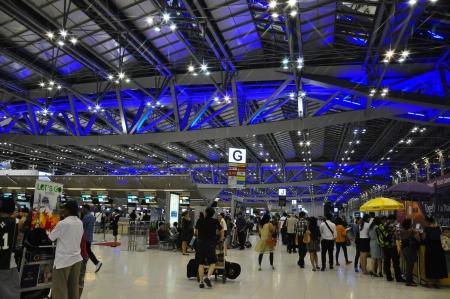 Suvarnabhumi Airport, New Bangkok Airport, Thailand Stock Photo - 14340378