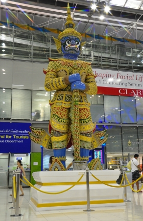 Suvarnabhumi Airport, New Bangkok Airport, Thailand Stock Photo - 14340376