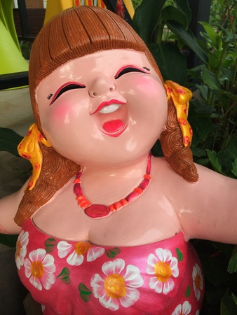 doll: Close up of a doll