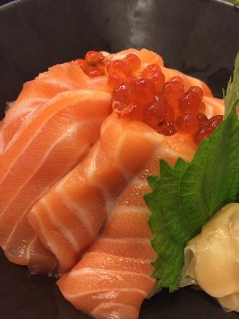 Salmon raw fillet red fish