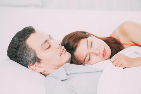 Sleeping interracial