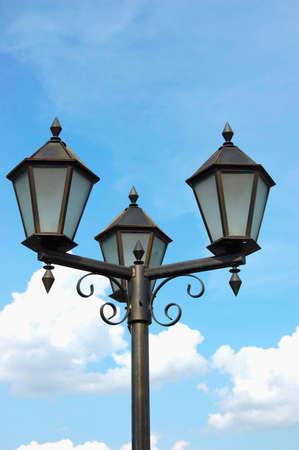 neo gothic: lamppost