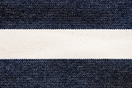 twill: Navy blue striped canvas texture