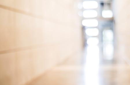 Blur innerhalb Bürogebäude mit Bokeh hellem Hintergrund, Innen-und Business-Hintergrund Standard-Bild - 37716448