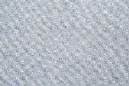 Light blue top dye cotton polyester fabric texture, detailed closeup, vintage fabric.