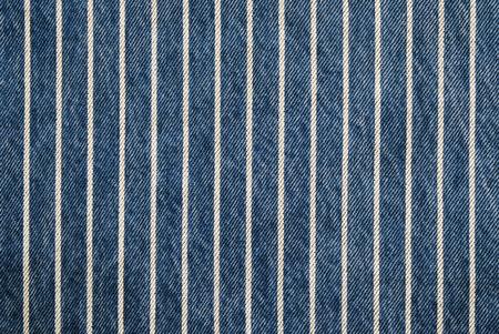in jeans: Marina de rayas azul denim textura backgound, tela de jeans