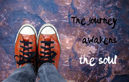 street wise: The journey awakens the soul : inspirational quotation, motivation