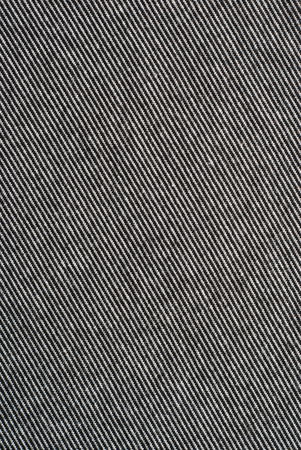 polyester: Black and white striped cotton polyester texture background