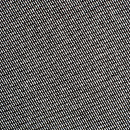 Black and white striped cotton polyester texture background