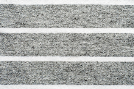 polyester: Gray and white striped cotton polyester texture background