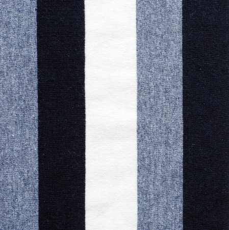 polyester: navy blue and white striped cotton polyester texture background Stock Photo