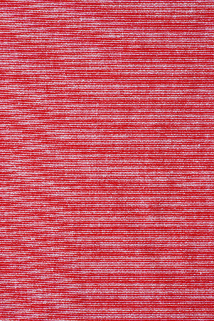 polyester: Red and white striped cotton polyester texture background Stock Photo