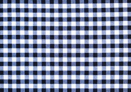 scott: Scott pattern fabric texture background, black and white Stock Photo