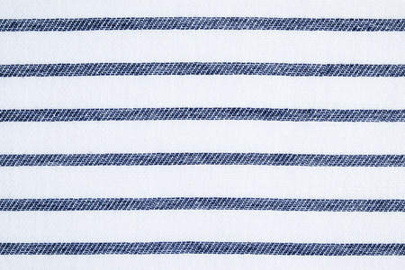 cotton fabric: Blue and white stripe pattern cotton fabric texture background
