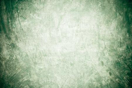 green tone: Grunge cement wall texture background, interior design, vintage, green tone