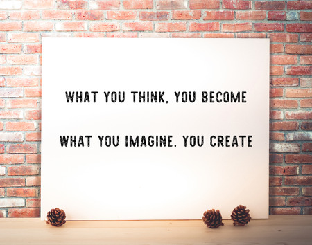thinking of you: What you think, you become : Motivative quotation, life style, positive thinking