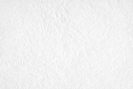 cardboard texture: Crumpled white mulberry paper textured background, detail closed up Stock Photo