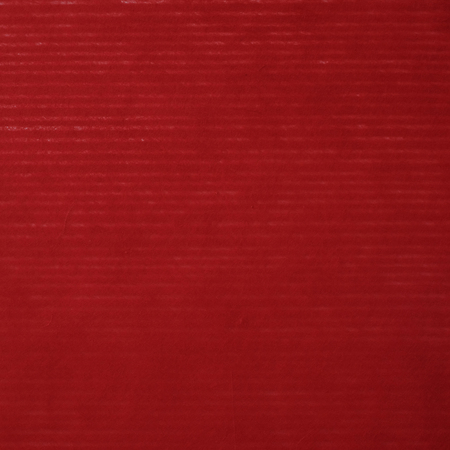 mulberry paper: Red striped pattern on mulberry paper textured background, detail close-up