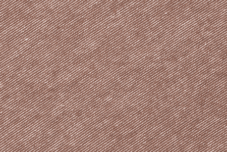 Brown and white striped cotton polyester texture background Reklamní fotografie